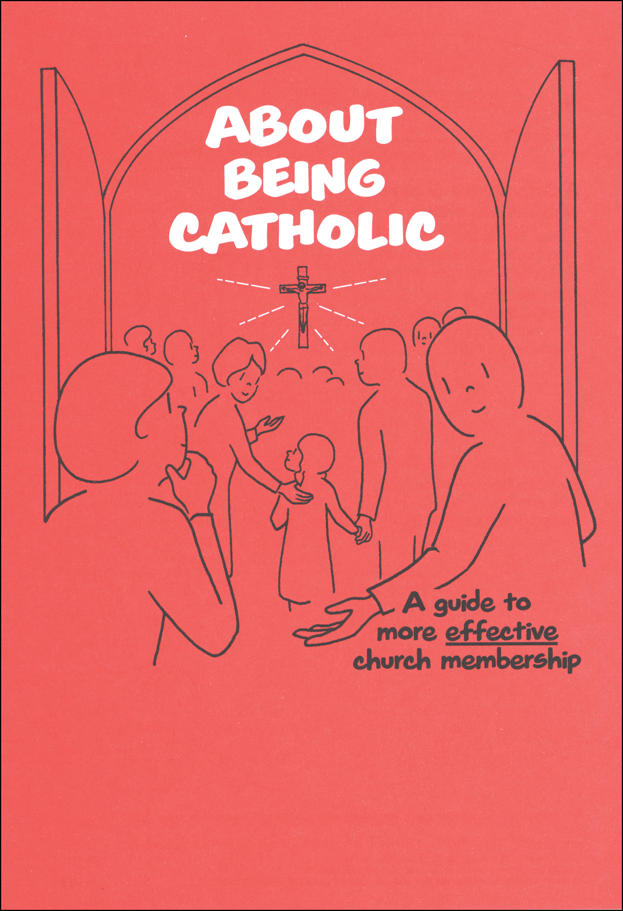 Scriptographic Booklets and Coloring Books: About Being Catholic