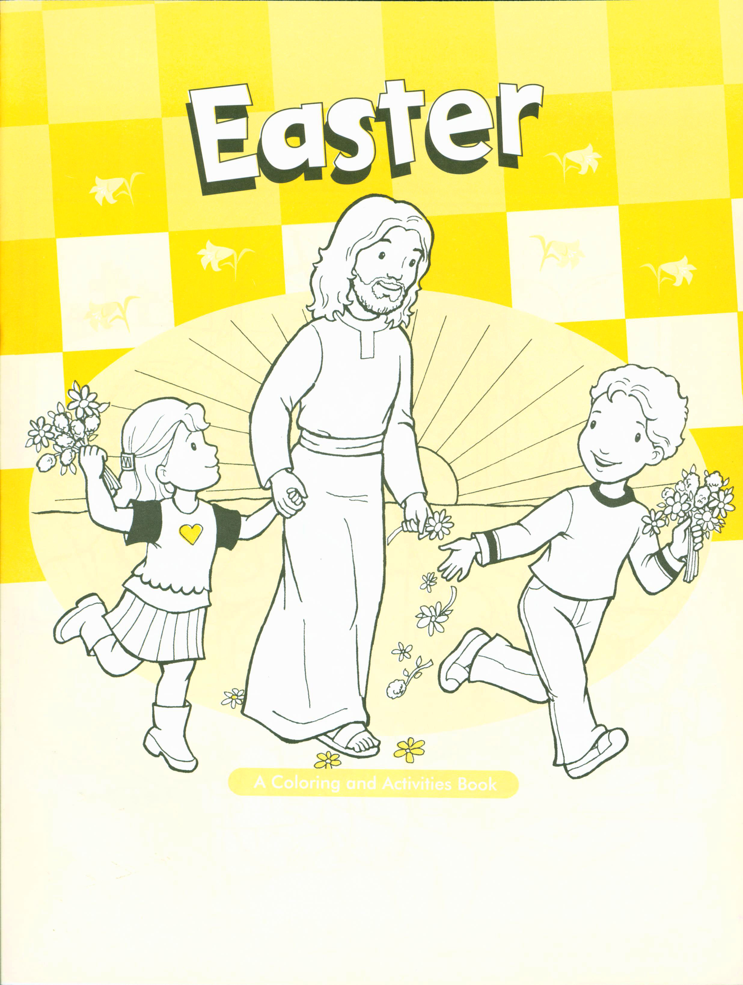Easter:  A Coloring & Activities Book