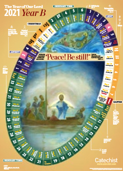 Year of Our Lord 2021 Classroom Calendar