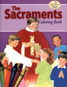 The Sacraments Coloring Book