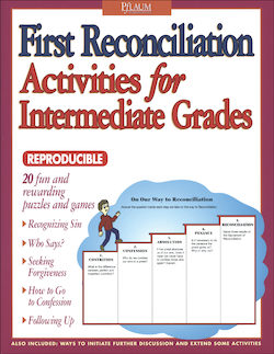 First Reconciliation Activities for Intermediate Grades
