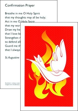 Confirmation Prayer Card, 10-pack