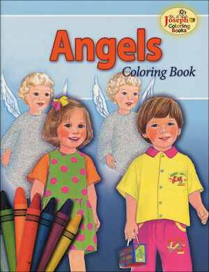 St. Joseph Coloring Books: Angels Coloring Book