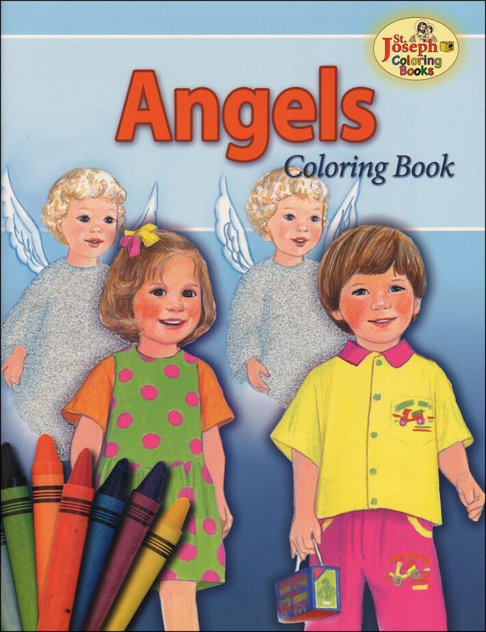 st joseph coloring books angels coloring book - Coloring Book Angels