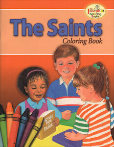 The Saints Coloring Book
