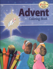 St. Joseph Coloring Books: Advent Coloring Book