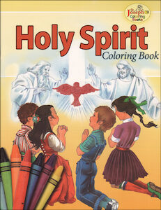 Holy Spirit Coloring Book