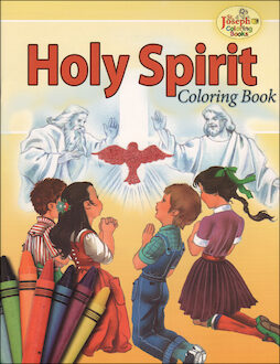 St. Joseph Coloring Books: Holy Spirit Coloring Book