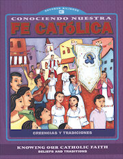 Knowing Our Catholic Faith, Bilingual: Conociendo Nuestra Fe Católica, Level 3, Student Workbook