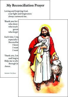 First Reconciliation Prayer Card 10-pack