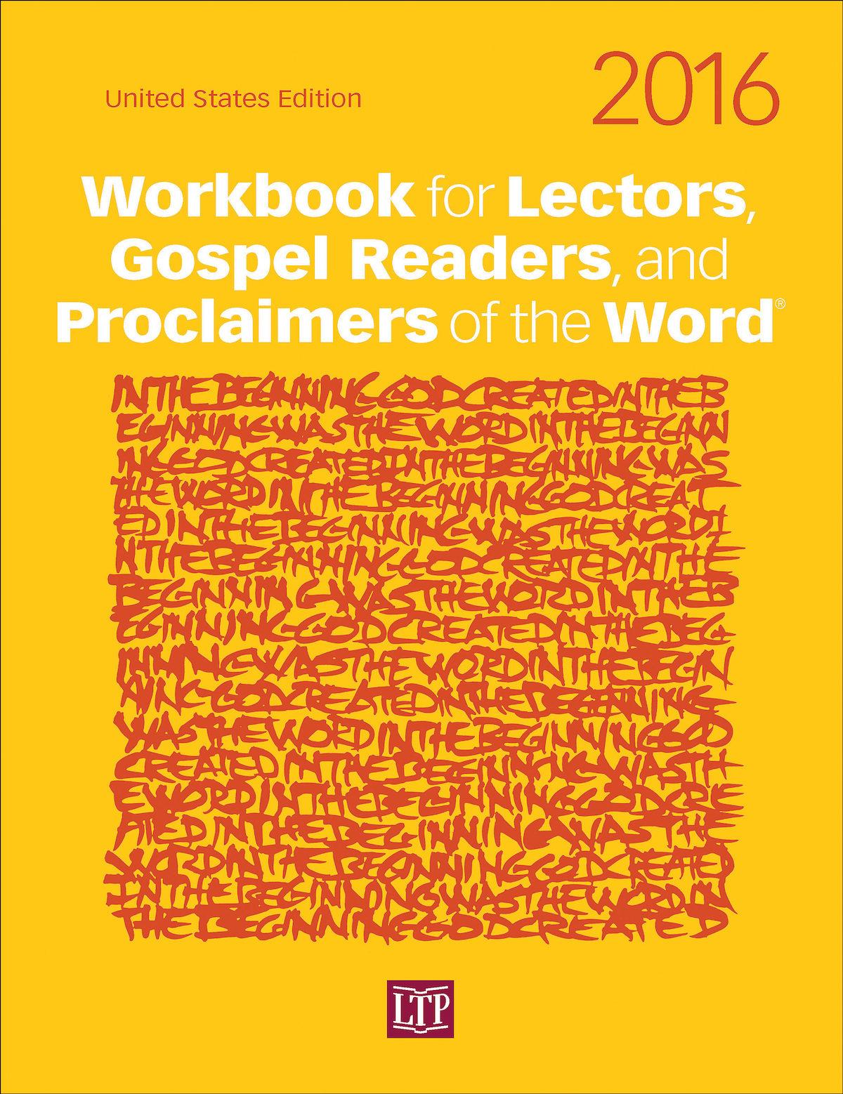 Workbook for Lectors and Gospel Readers 2016