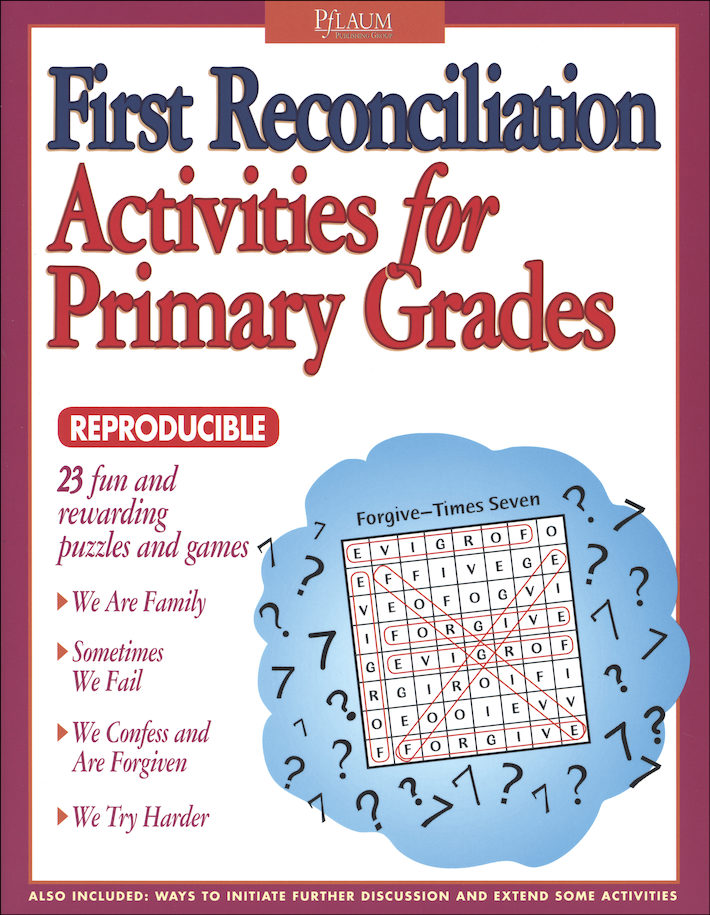 First Reconciliation Activities for Primary Grades | Communication ...