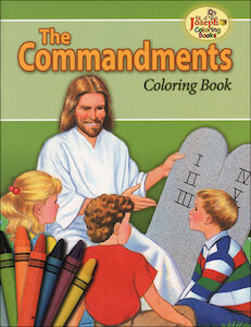 The Commandments Coloring Book