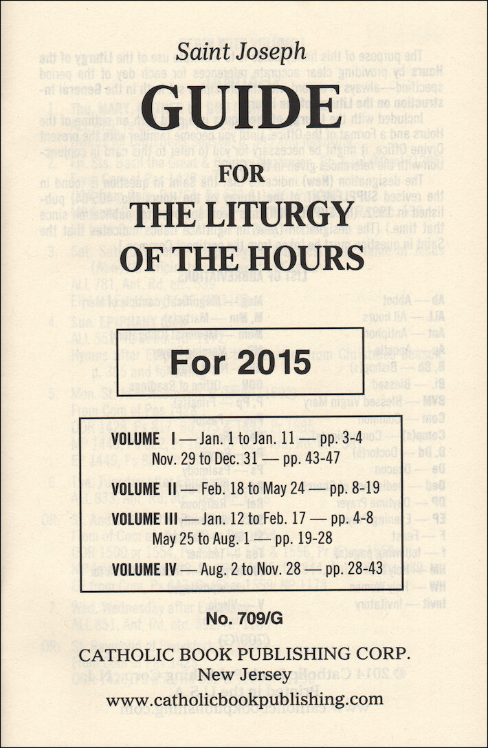 liturgy of the hours guide 2017 pdf