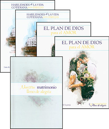 Un matrimonio lleno de alegría: Complete Program Couple Set