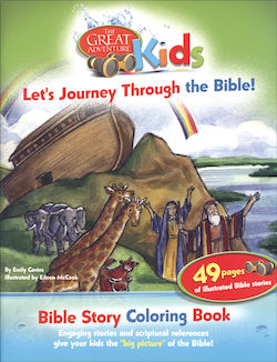 Let's Journey Through the Bible! Coloring Book