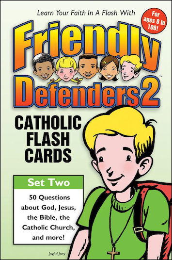 Friendly Defenders Catholic Flashcards