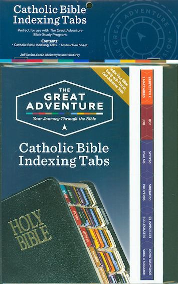 The Bible Timeline: Catholic Bible Indexing Tabs