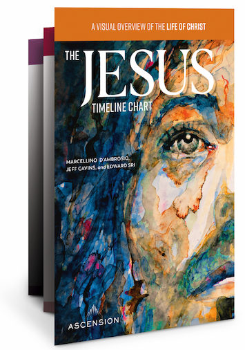 Jesus: The Way, the Truth, and the Life: The Jesus Timeline Chart