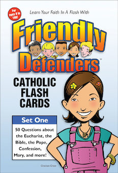 Friendly Defenders: Catholic Flashcards