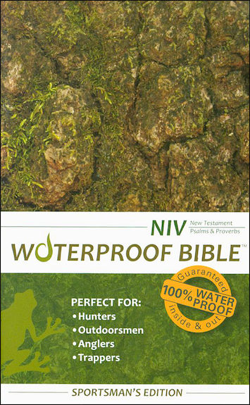 NIV Waterproof New Testament, Psalms and Proverbs