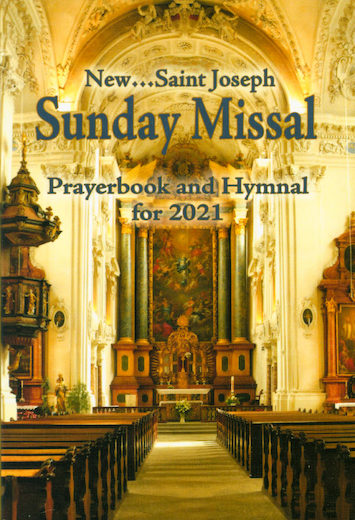 Sunday Missal Prayerbook and Hymnal for 2021