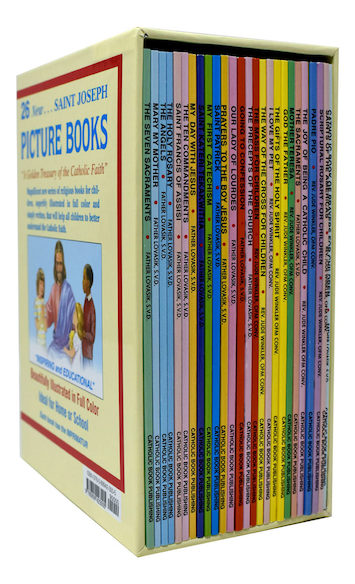 St. Joseph Picture Books: Boxed Set of 26 titles