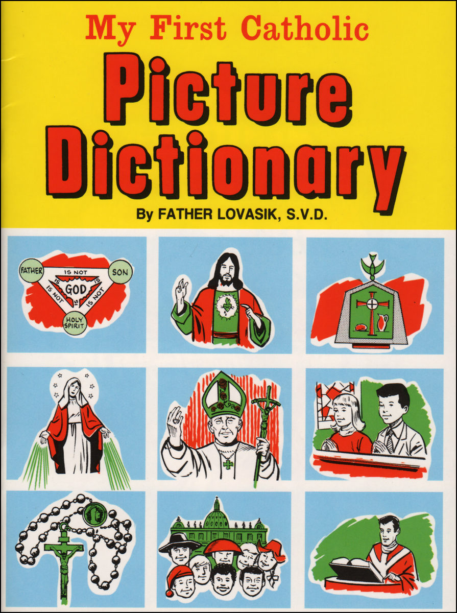 St  Joseph Picture Books: My First Catholic Picture Dictionary