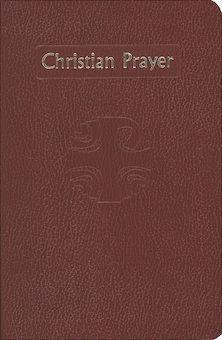 Liturgy of the Hours: Christian Prayer, deep red flexible cover