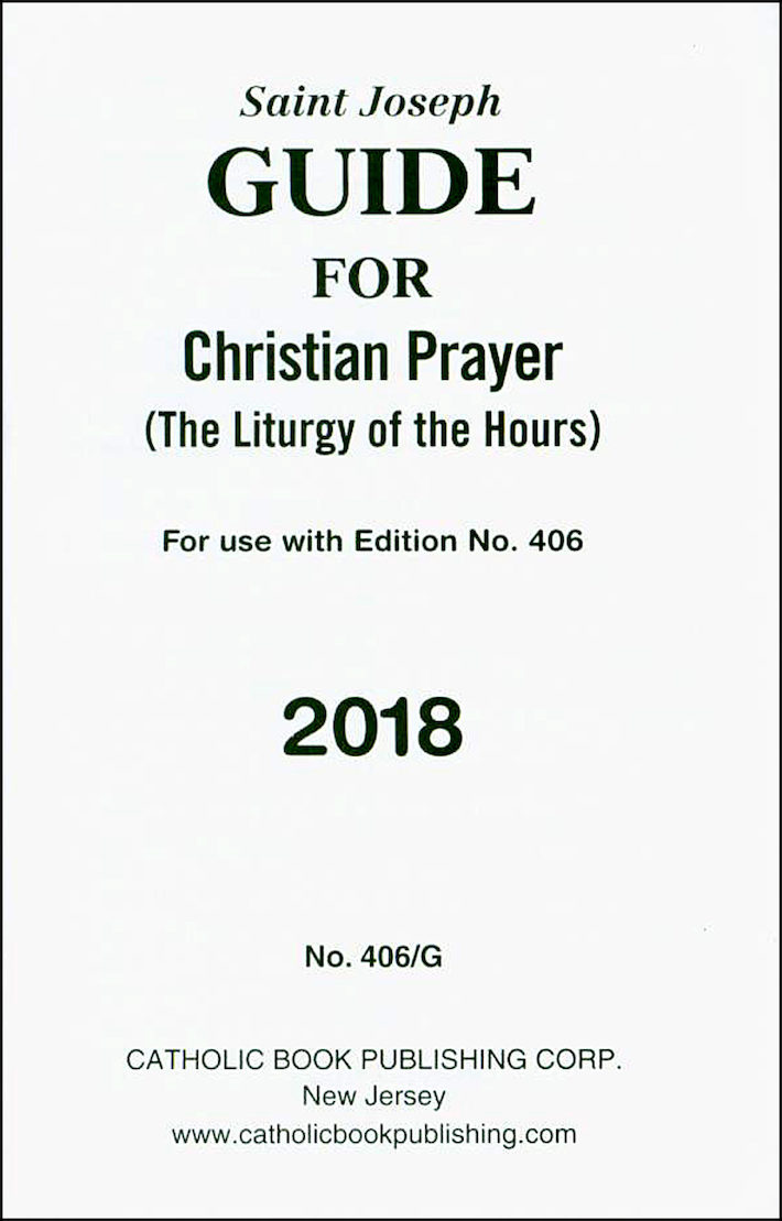 liturgy of the hours christian prayer annual guide 2018 rh comcenter com liturgy of the hours guide 2018 liturgy of the hours guide online