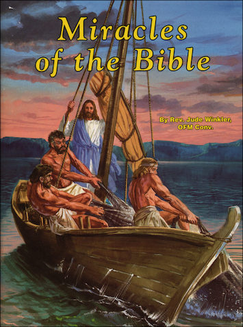 St. Joseph Picture Books: Miracles of the Bible