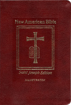 NABRE, New American Bible, St. Joseph Edition, leather