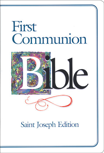 NABRE, First Communion Bible, St. Joseph Edition, leather-like