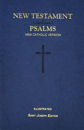 NCB, New Testament and Psalms, St. Joseph Edition, softcover