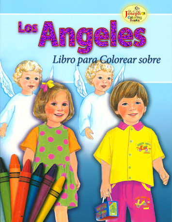 St. Joseph Coloring Books: Libro Para colorear sobre Los Angeles