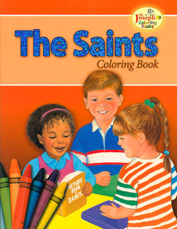 St. Joseph Coloring Books: The Saints Coloring Book