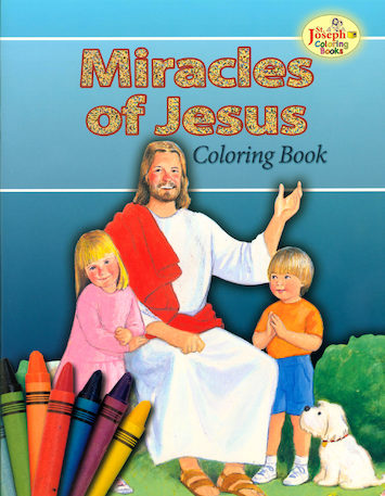 St. Joseph Coloring Books: Miracles of Jesus Coloring Book