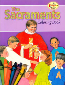 St. Joseph Coloring Books: The Sacraments Coloring Book