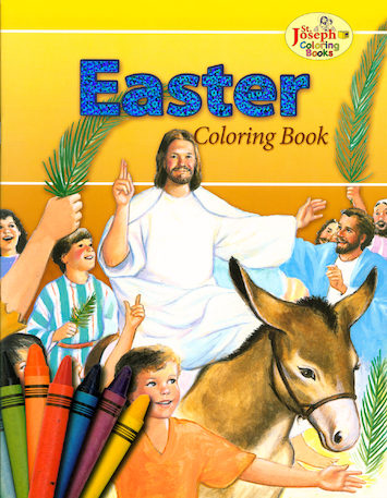 St. Joseph Coloring Books: Easter Coloring Book
