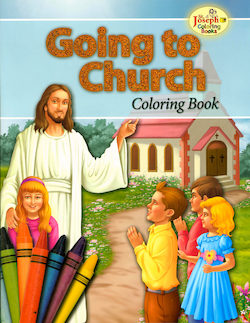 Going to Chruch Coloring Book