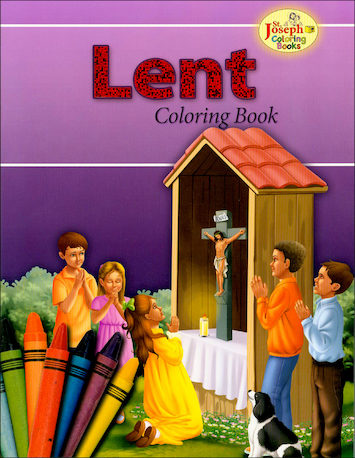 St. Joseph Coloring Books: Coloring Book about Lent