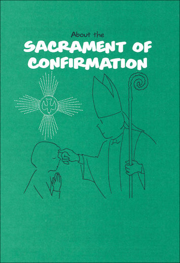 Scriptographic Booklets and Coloring Books: About the Sacrament of Confirmation
