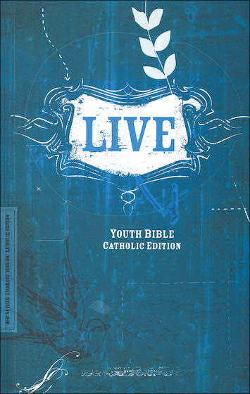 NRSV, Live Youth Bible, Catholic Edition, softcover