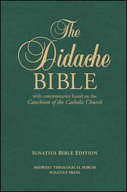 RSV, The Didache Bible, leather