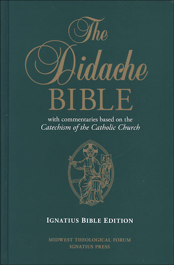 RSV, 2nd Catholic Edition, The Didache Bible, hardcover