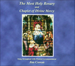 Most Holy Rosary and Chaplet of Divine Mercy, Music CD