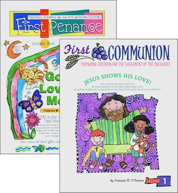 First Communion/ First Penance, Primary, Student Materials