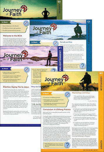 Journey of Faith for Adults 2016: Complete Set