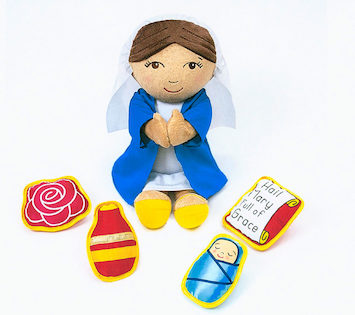 Adaptive Finding God, Grades 1-8: Mary, Our Mother Plush Figure