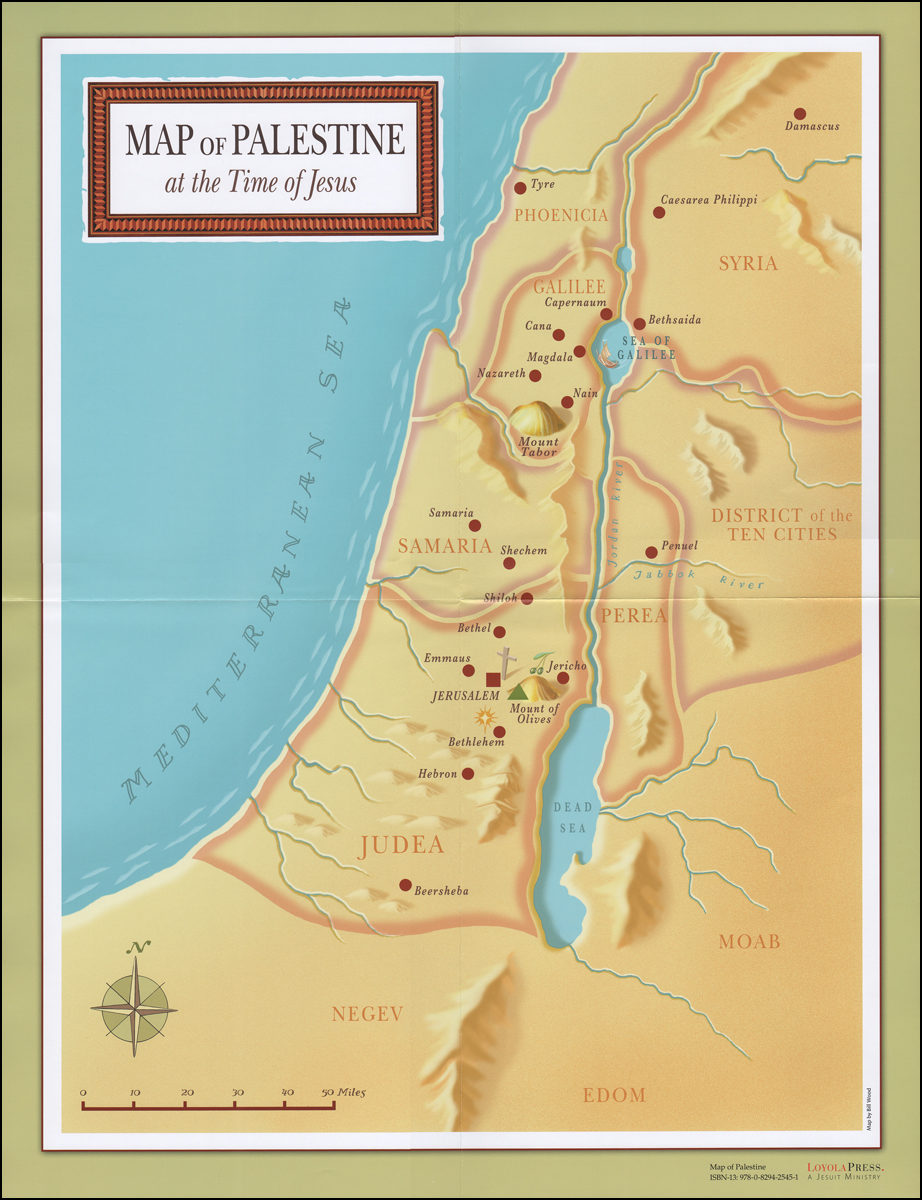 Map of Palestine at the Time of Jesus Poster Caesarea Philippi Map on nazareth map, phoenicia map, capernaum map, jerusalem map, bible caesarea on a map, judea map, magdala map, qumran map, caesarea palaestina, azotus to caesarea map, mount of olives map, bethlehem map, chorazin map, antonia fortress map, philippi macedonia map, philippi bible map, colossae map, mt. tabor map, masada map, cyprus map, damascus map,
